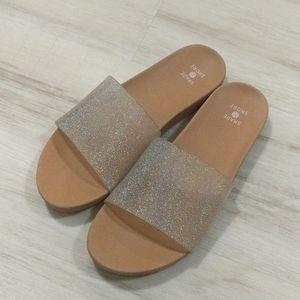 Sparkle Size 7 Sandals